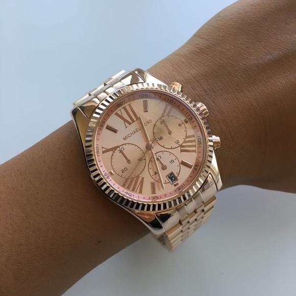 11b9a101153c BRAND NEW Michael Kors Rose Gold Watch MK5569